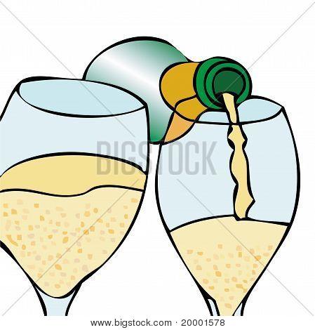 Waiter, Champagne