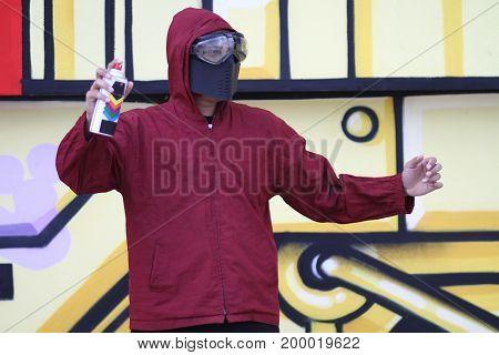 Graffiti Of Hip Hop City