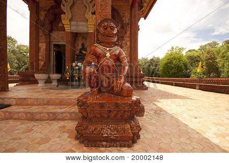 Guardian Lion. Forbidden City. Ubonratchatani. Thailand