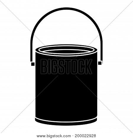 paint pot isolated icon vector illustration design