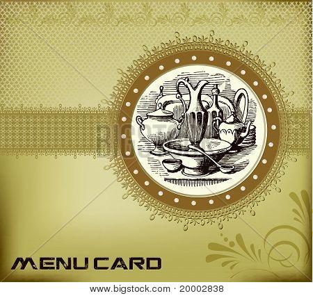 Template Menu card