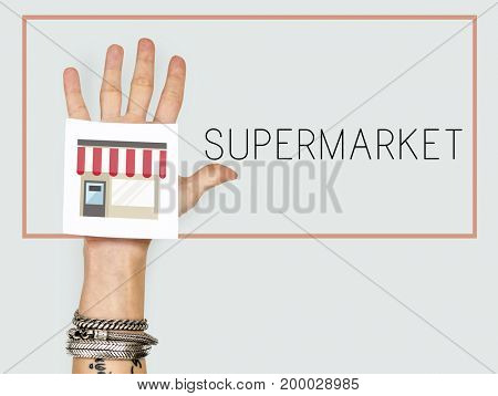 Small Business Merchandise Retail Online Shop Graphic