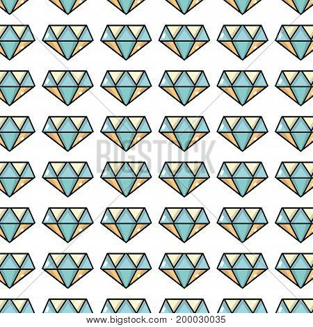 cute diamond elegant accessory background design vector illustration
