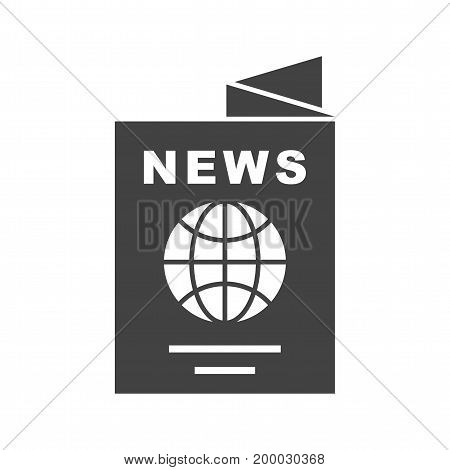 News, international, business icon vector image. Can also be used for news and media. Suitable for web apps, mobile apps and print media.