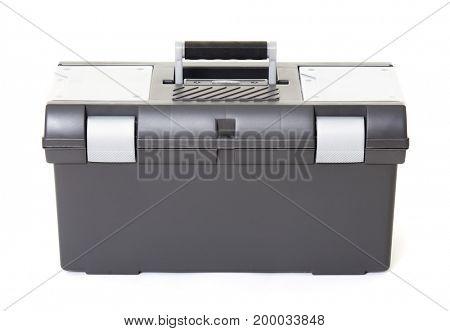 Toolbox, isolated object photo, white background