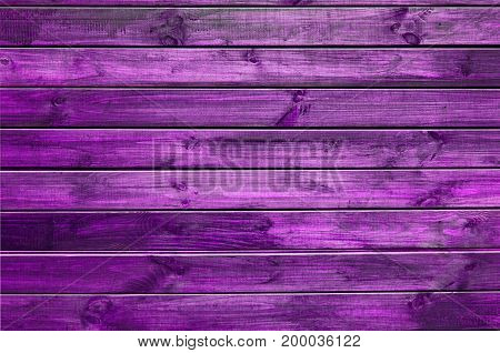 Background Of Purple Painted Wooden Boards, Painted Wood Texture