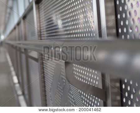 Modern and Generation of Stainless wall background.