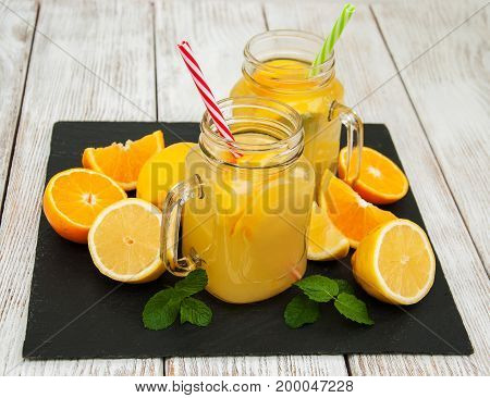 Jar With Orange Juice