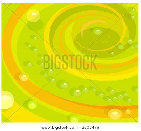 Swirling Bubbles