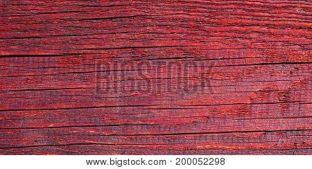 Old red wood vintage texture background .