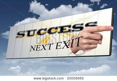 sign to success