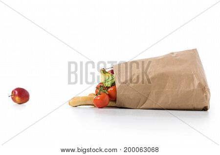 Fruits And Vegetables Grocery Bag