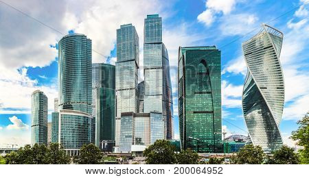 Moscow city Russia (Moscow International Business Center) High-rise buildings