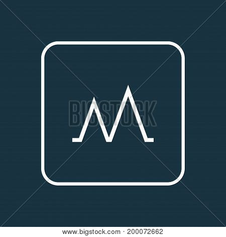 Premium Quality Isolated Activity Element In Trendy Style.  Action Outline Symbol.