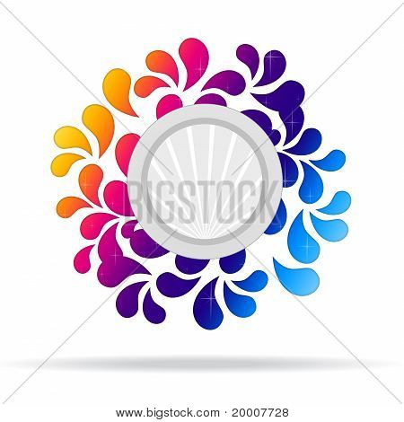 Flowery, Abstract Icon