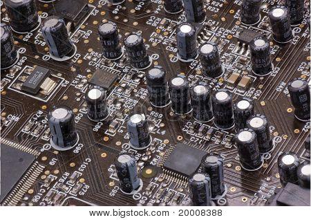 Dusty Circuit Board