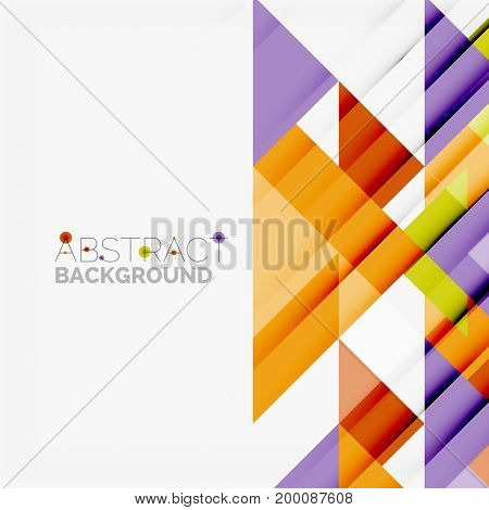 Triangle pattern design background. business or technology presentation template, brochure or flyer pattern, or geometric web banner