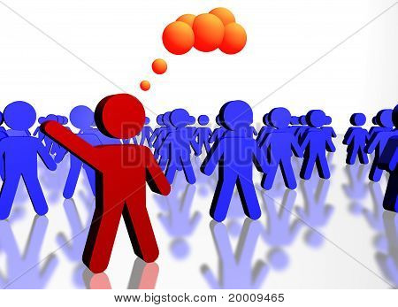 People Concept Of Leadership