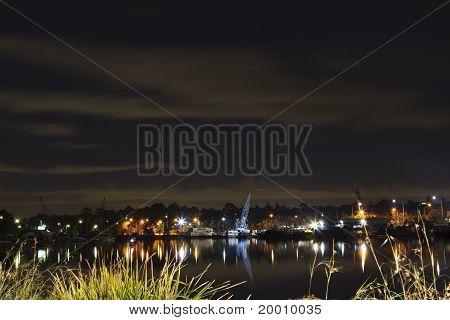 Night Water View, Sydney Australia