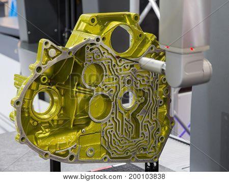 CNC Coordinate Measuring Machine measuring engine housing