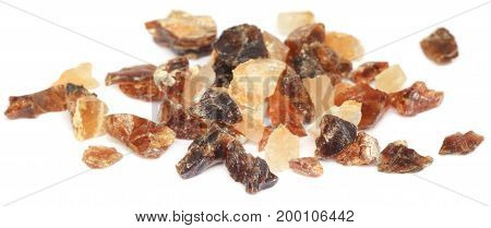 Frankincense dhoop a natural aromatic resin used in perfumes and incenses