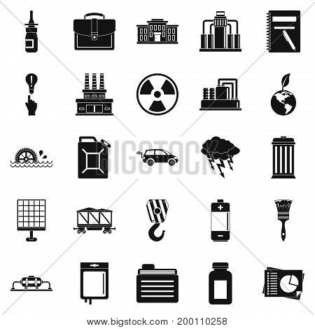 Outgoings icons set. Simple set of 25 outgoings vector icons for web isolated on white background