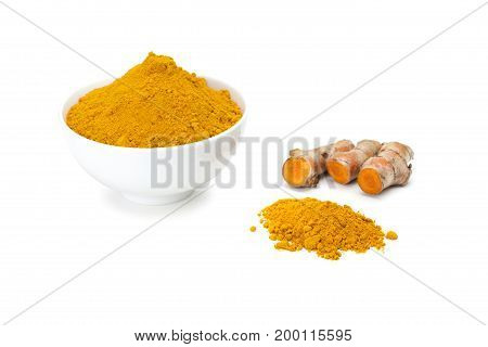 Turmeric Rhizome And Turmeric Powder