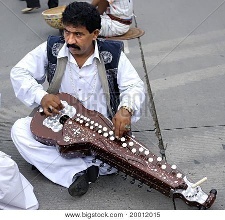 Pakistani folk musician