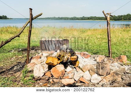 The Picnic By The Lake, Smolder Firewood