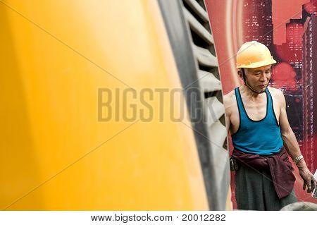 hardworking laborer