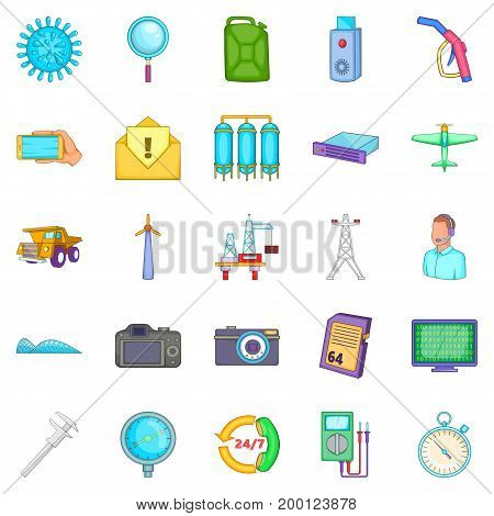Thrift icons set. Cartoon set of 25 thrift vector icons for web isolated on white background