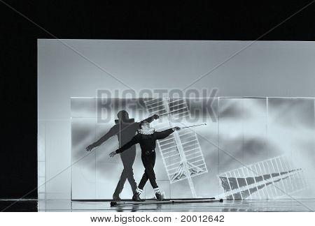Frence modern dancer
