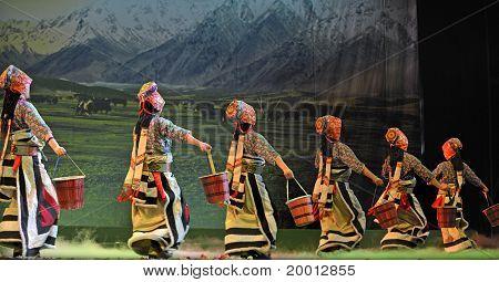 Tibetan ethnic dance drama