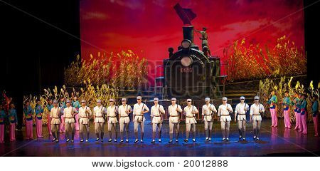 The Famous Chinese Dance Drama : Railway Guerrillas