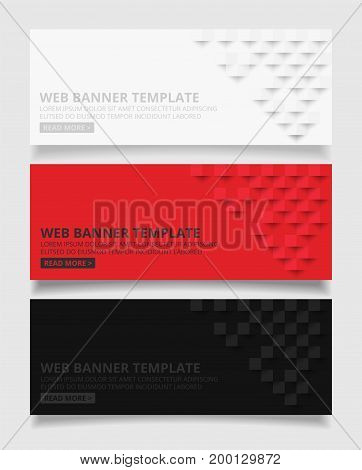 White red and black square geometric texture background Abstract square geometric texture.banner background web design for infographics business finance.