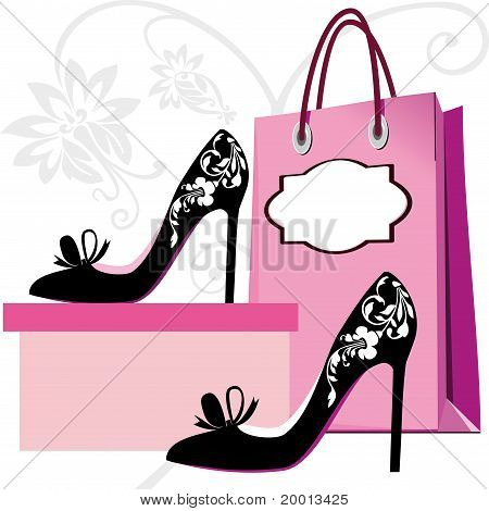 Fashion shoes shopping