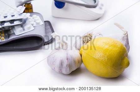 Garlic and lemon are better remedy then pills and drugs