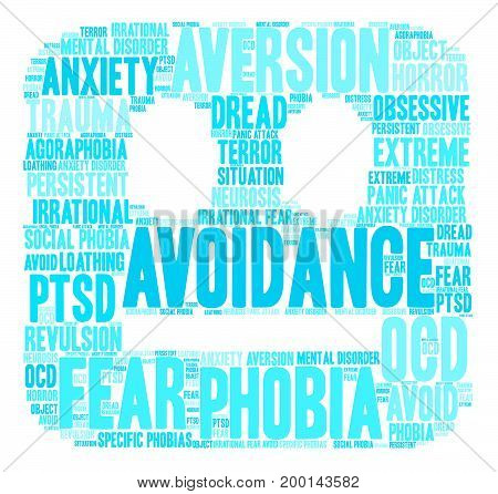 Avoidance Word Cloud