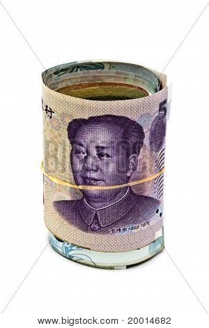 Roll Of Chinese Money