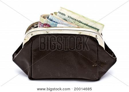 Different Currency And Purse