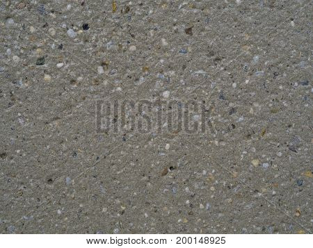 Beige Concrete With Multi Color Stone Grit Grain Natural Background