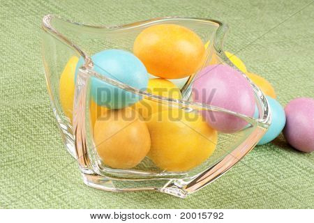 Hard Sugar Coated Chocolate Eggs