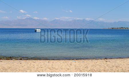 Sinai beach, Egypt.