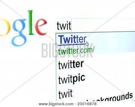 Googling Twitter