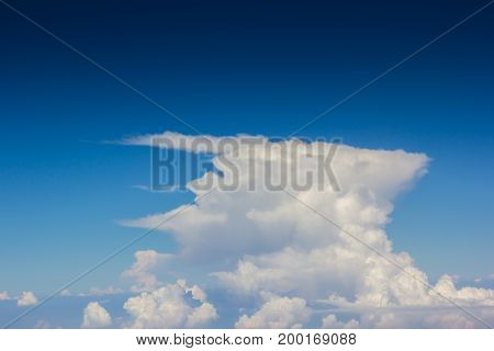 Sky Over Cloud Layer