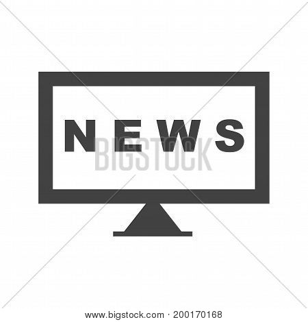 News, national, report icon vector image. Can also be used for news and media. Suitable for mobile apps, web apps and print media.