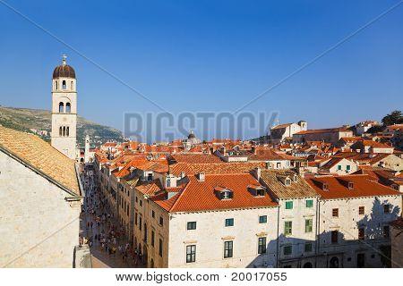 Town Dubrovnik In Croatia