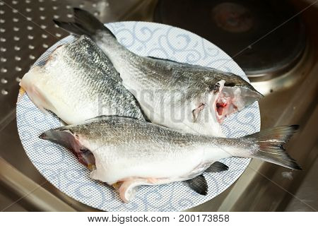Bream Fish On Plate