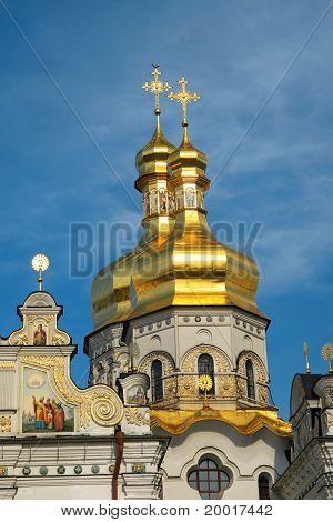cupolas of Kiev Pechersk Lavra