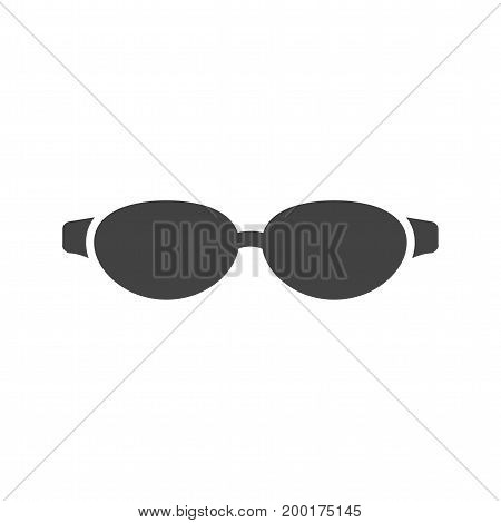 Sunglasses, eyes, style icon vector image. Can also be used for Mens Accessories. Suitable for use on mobile apps, web apps and print media.